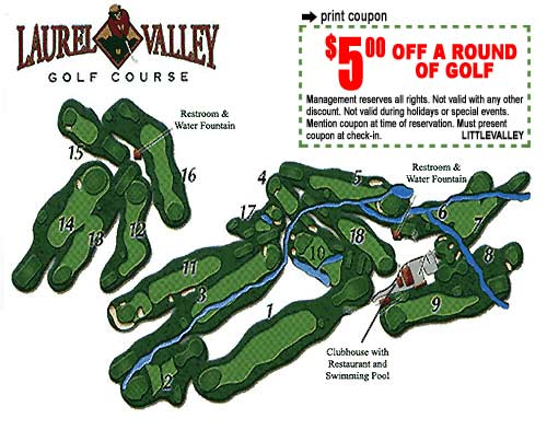Laurel Valley Golf Course coupon